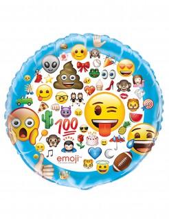 Emoji™ Riesenfolienballon Geburtstagsballon bunt