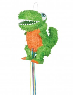T-Rex-Piñata grün