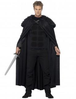 Dunkelkrieger-Kostüm für Herren schwarz