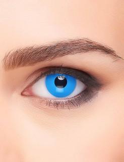 Fantasy-Kontaktlinsen blau