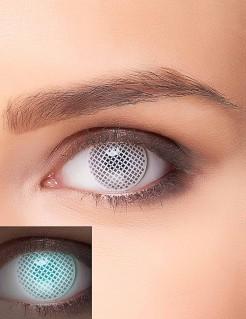 Leuchtende Gitter-Kontaktlinsen