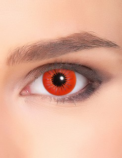 Kontaktlinsen Stern rot