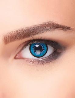 Kontaktlinsen Stern blau