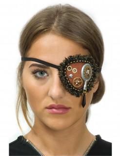 Steampunk-Augenklappe mit Spitze