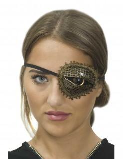 Steampunkpiraten-Augenklappe