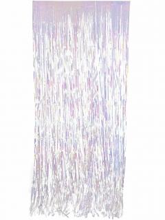 Glitzer-Vorhang Partydeko bunt 91 x 244 cm