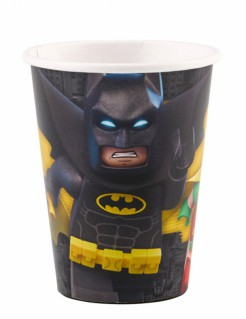 Lego Batman-Pappbecher Trinkbecher 8 Stück 266ml