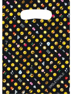 Emoticons™ Tüten 8 Stück bunt 23 x 16,5cm