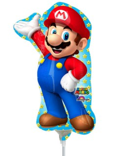 Folienballon Super Mario™ Partyballon bunt