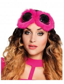 Fantasy Damen-Brille Steampunk Pink