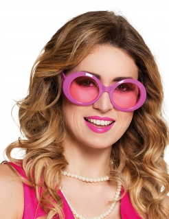 Discobrille 80er Jahre pink