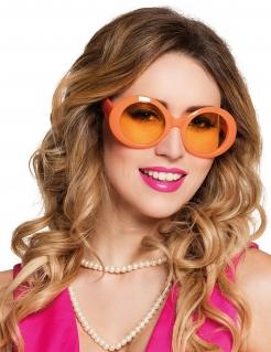 Discobrille für Mädchen orange