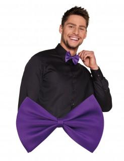 Erwachsenen-Fliege Herrenkostüm-Accessoire violett