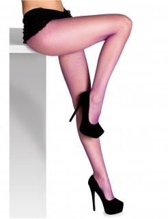 Netzstrumpfhose für Damen violett