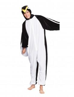 Pinguin-Kostüm Erwachsene schwarz-weiß