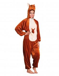 Känguru-Kostüm für Erwachsene braun