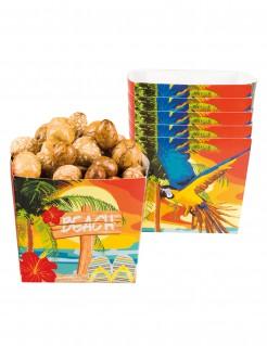 Strandparty-Schalen aus Karton 6 Stück 40 cl