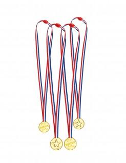 Siegermedaillen Medaillen-Kette gold-bunt