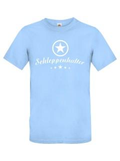 JGA T-Shirt Schleppenhalter hellblau-weiss