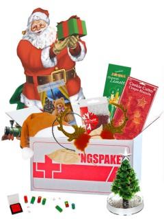 Rettungspaket für die Weihnachtszeit Geschenk-Set 8-teilig bunt