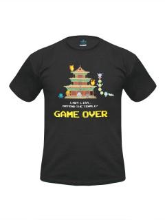 Pixels T-Shirt Dojo Quest Lizenzware schwarz-bunt