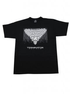 Terminator Genisys™ Lizenz-T-Shirt für Erwachsene schwarz-weiss