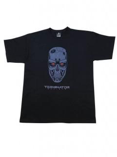 Terminator Genisys T-Shirt Totenschädel grau