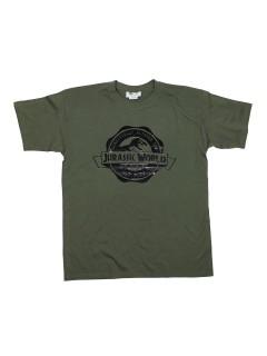 Offizielles Jurassic World-Shirt Lizenz-T-Shirt grün-schwarz