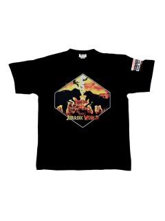 Jurassic World™ T-Shirt Dino Silhouetten schwarz-gelb
