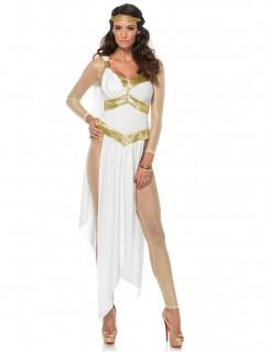 Aphrodite-Kostüm für Damen weiss-gold