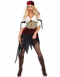 Sexy Piratin-Damenkostüm