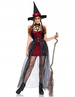 Hexen-Damenkostüm mit abnehmbarem Rock