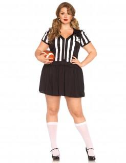 Sexy Schiedsrichterinnen-Damenkostüm