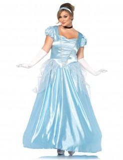 Prinzessinnen-Damenkostüm blau