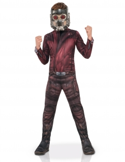 Star Lord™-Kinderkostüm Guardians of the Galaxy burgund-schwarz