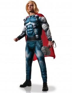 Thor - Avengers-Kostüm für Erwachsene - blau-rot