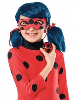 Ladybug-Accessoire-Set Ohrringe Jo-Jo rot-schwarz