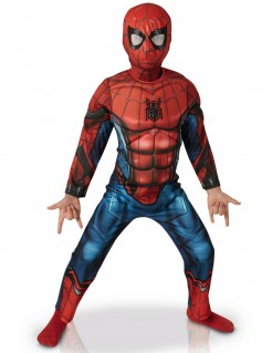 Spiderman™ Homecoming-Kinderkostüm Superheld rot-blau