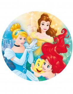 Disney™ Prinzessinnen™Tortenoblate Kuchendeko Lizenzware bunt 20cm
