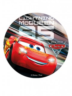 Cars™-Oblate Kuchendeko 20cm