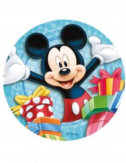 Disney™ Mickey Maus™ Zuckerplatte Kuchendeko bunt 20cm