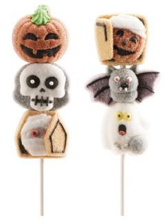 Marshmallow-Spieß Halloween-Süßigkeit bunt 30g