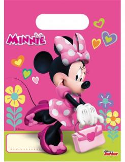 Disney™ Minnie Maus™ Geschenktüten Kindergeburtstag Lizenzware 6 Stück 23x16,5cm