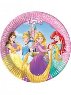 Disney Prinzessinnen™-Pappteller 8 Stück 20cm