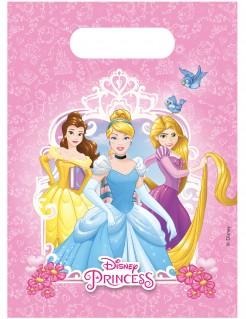 Disney Prinzessinnen™ Partytüten für Kindergeburtstage 6 Stück bunt 16 x 23cm