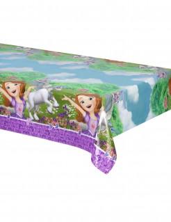 Kunststoff-Tischdecke Sofia und das Einhorn™ Geburtstags-Tischdeko violett-bunt 120x180cm