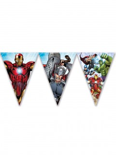Avengers™-Wimpelgirlande Lizenzartikel