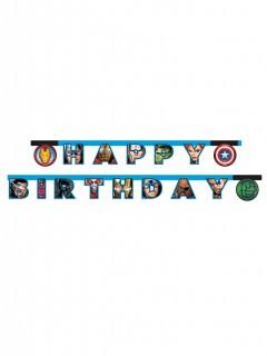 Avengers™-Geburtstagsgirlande Lizenzartikel