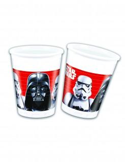 Star Wars™-Trinkbecher Tischdeko 8 Stück bunt 200ml