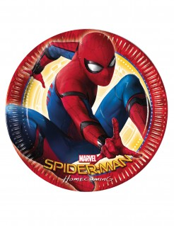Spider-Man: Homecoming™-Teller 8 Stück 23cm